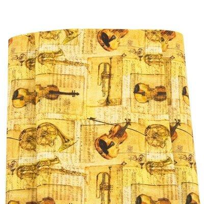 Digital print cotton - Bach
