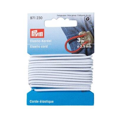 Elastic cord white- 3 m pack