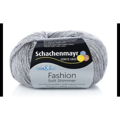 Fashion Soft Shimmer yarn - Silver 00056