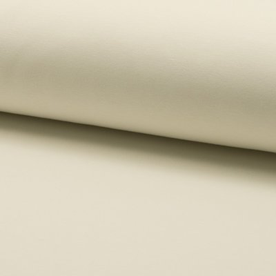 Jerse french terry brushed - Ivory