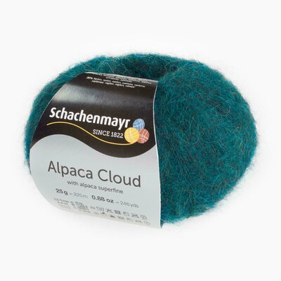 Knitting Yarn - Alpaca Cloud - Peacock 00069