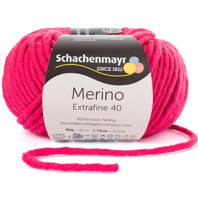 Merino Wool Yarn Extrafine 40 - Cyclam 00338