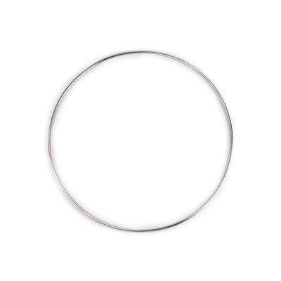 Metal ring for dreamcatchers - 25 cm diam