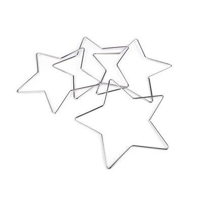 Metal star for dreamcatchers - 20 cm diam