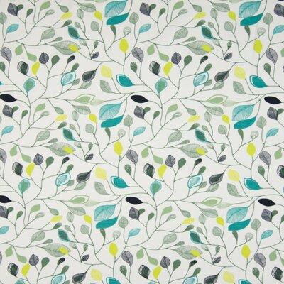 Organic Cotton Jersey - Leaves White