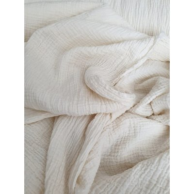 Organic Cotton muselin Smarandita natur