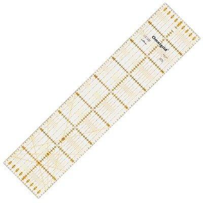 Patchwork and quilting ruler Omnigrid 10x45 cm