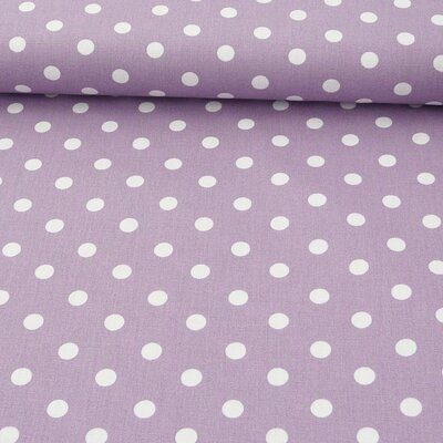 Printed Cotton - Dots Lilac