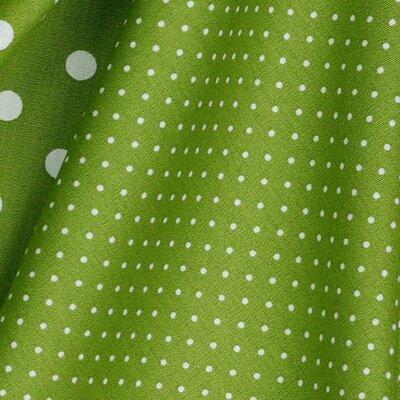 Printed Cotton - Petit Dot Green
