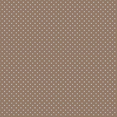 Printed Cotton - Petit Dots Taupe