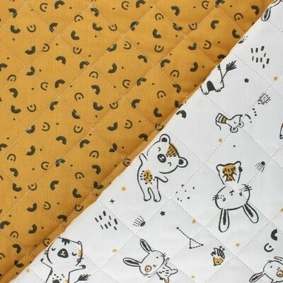 Quilted Cotton - Bigao
