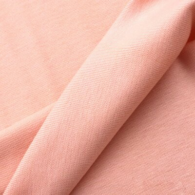 Rib Cuff  Gots Tube - Soft Pink