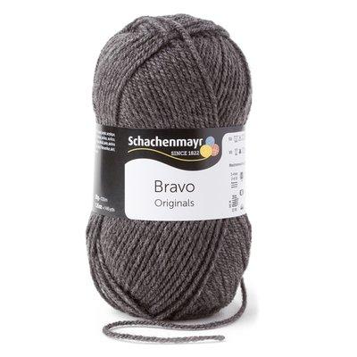 Schachenmayr Bravo Acrylic Yarn - Grey Heather 08319