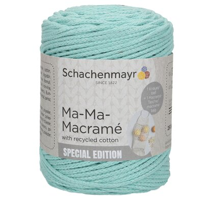 Slim macramé yarn - Ma-Ma-Macramé Mint 00070