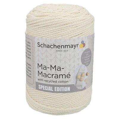 Slim macramé yarn - Ma-Ma-Macramé Natural 00002