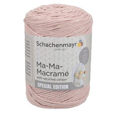 Slim macramé yarn - Ma-Ma-Macramé Rose 00035