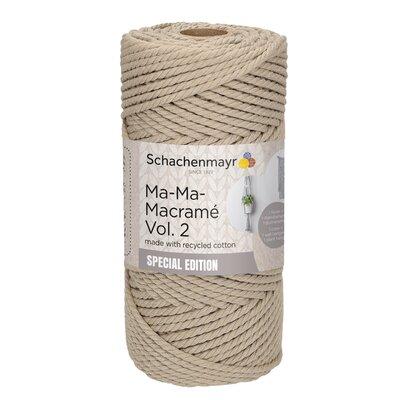 Thick macramé yarn - Ma-Ma-Macrame2 - Humus 00005