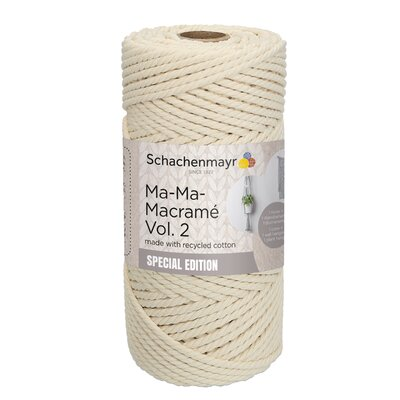 Thick macramé yarn - Ma-Ma-Macrame2 - Natural 00002