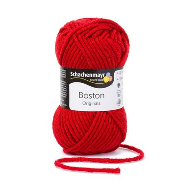 Wool blend yarn Boston-Claret 00031