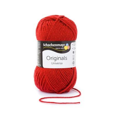 Wool blend yarn Universa - Cherry 00032