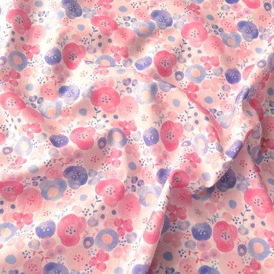 Bumbac imprimat digital - Anuska Pink