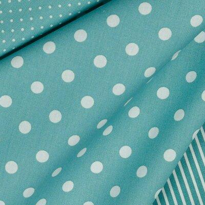 Bumbac imprimat - Dots Fresh Sage