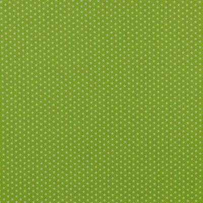 Bumbac imprimat - Mini Stars Green