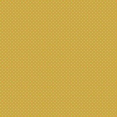 Bumbac imprimat - Petit Dot Ochre