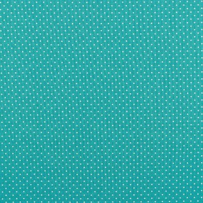 Bumbac imprimat - Petit Dots Turquoise