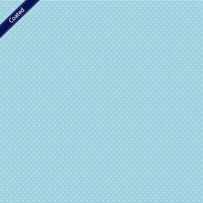 Bumbac peliculizat - Petit Dots Blue