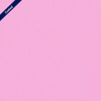 Bumbac peliculizat - Petit Dots Old Rose