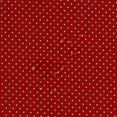 Bumbac peliculizat - Petit Dots Red