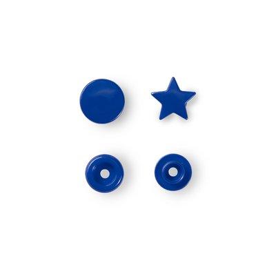 Capse din plastic Star - Royal Blue - pachet 30 buc