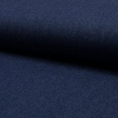 Denim uni subtire 200 gr/mp - Dark Blue