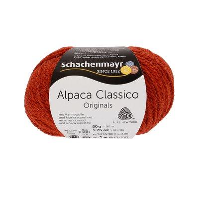 Fir de tricotat Alpaca Classico - Rust 00012