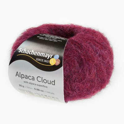 Fir de tricotat Alpaca Cloud - Wine 00031
