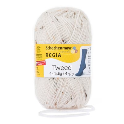 Fir din lana - Regia Tweed 4ply - Natur 00002