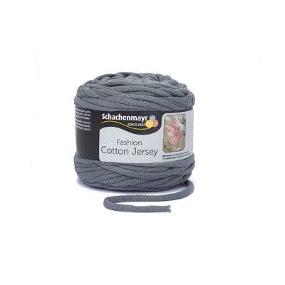 Fir Gros Cotton Jersey Graphite 00098