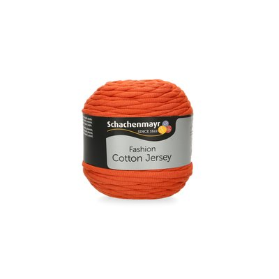 Fir Gros Cotton Jersey Terracotta 00025