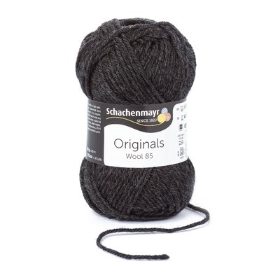 Fire Lana Wool85 - Dark Grey Melange 00297