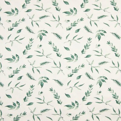 Jerse Bumbac imprimat - Leaves Green