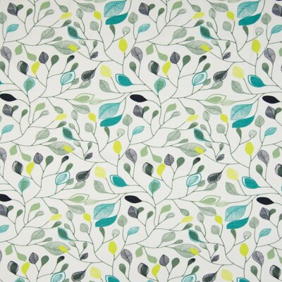 Jerse Bumbac Organic - Leaves White