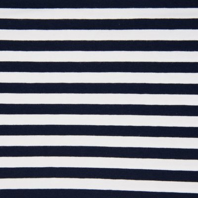 Jerse de bumbac - Stripes Navy 1cm