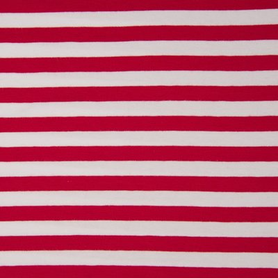 Jerse de bumbac -Stripes Red 1cm