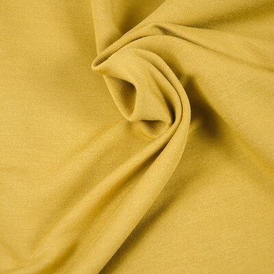 Jerse French Terry Modal Tencel  - Ochre