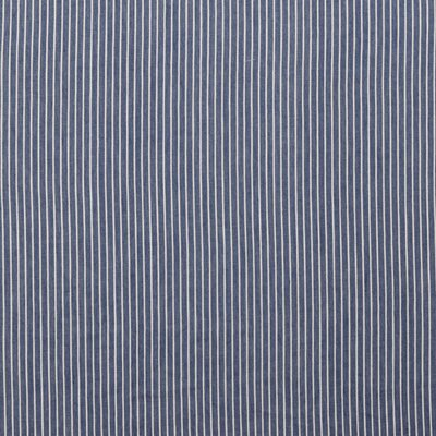 Material bumbac - Jeans Stripe Blue