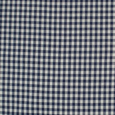 Material bumbac - Small Gingham Navy 5mm