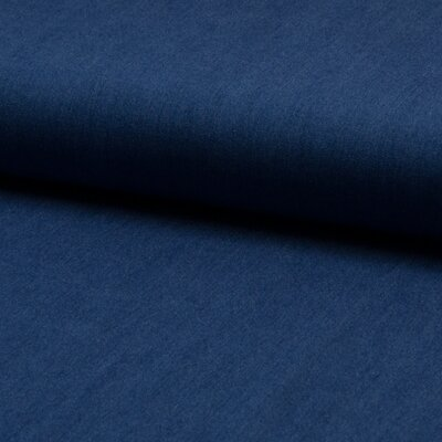 Material denim Chambrai Viscose - Mid Blue