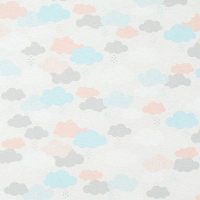 Material Home Decor - Clouds Pastel