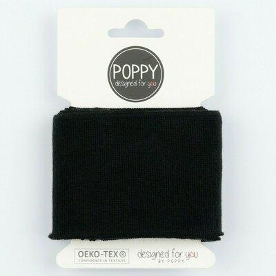Material pentru mansete 135 x 7cm - Black